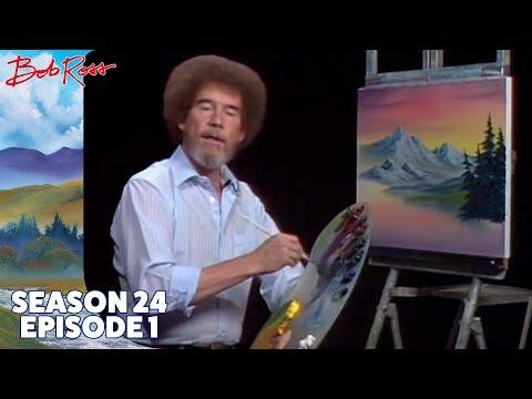 Bob Ross - Gray Mountain (Season 24 Episode 1)