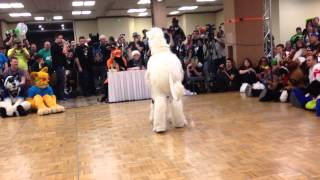 Biggest Little Fur Con 2014 Fursuit Dance Competition -22- Isabelle Unicorn