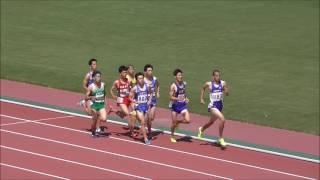 20170528広島県高校総体陸上男子800m決勝