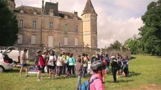 preview picture of video 'Rando VTT des Vins de Blaye'