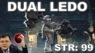 Dark Souls 3 - Overleveled Dual Ledo PvP Experiment