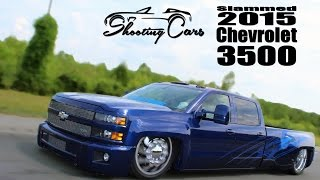 Bagged and Bodied 2015 Chevrolet Silverado 3500, The Six Pack Dually!