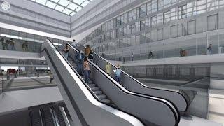 2. Stammstrecke München: 360-Grad-Simulation Hauptbahnhof
