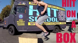 Total Body Workout | Plyo Box  - HIIT School