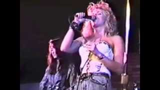 """The Pandoras and Cherie Currie Performing, """"Cherry Bomb"""" at The Music Machine 1989"""