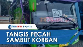 Tangis Pecah Sambut Korban Tewas Kecelakaan Bus di Subang, Rombongan Kader Posyandu asal Depok
