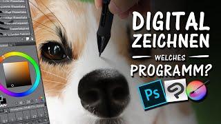 DIGITAL ZEICHNEN - Welches Programm ist für dich?   Drawinglikeasir