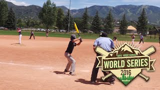 2016 Triple Crown World Series | 13u D1 Championship Game