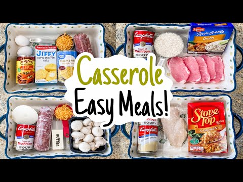 5 of THE BEST EASY Casserole Recipes! | Julia Pacheco