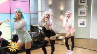 Dolly Style - Cherry Gum live @ Nyhetsmorgon tv4 16 augusti 2015