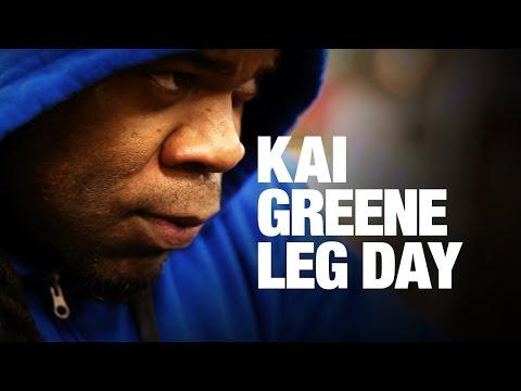 Kai Greene's Leg Workout 5 weeks Out 2016 Arnold Classic