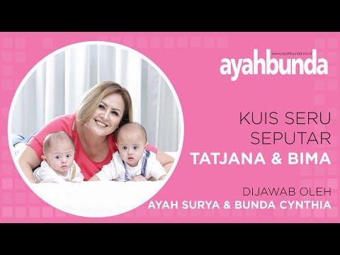 Surya Saputra dan Cynthia Lamusu : Menjawab Kuis Seputar Si Kembar