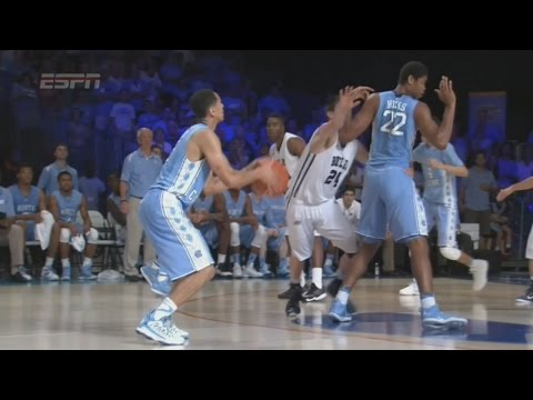 Video: UNC-Butler Game Highlights