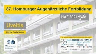 87. Homburger Augenärztliche Fortbildung - UVEITIS - HAF 2021 light