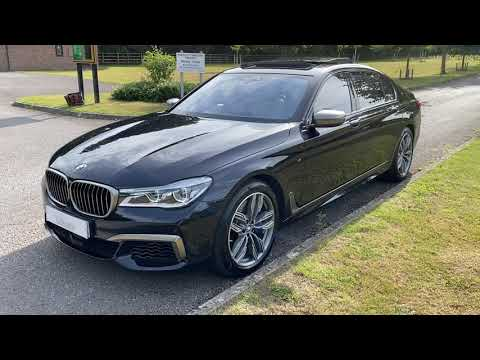 BMW M760iL X Drive V12 Video