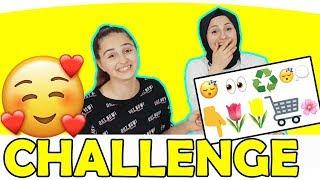 Emoji Şarkı Yarışması, Emojilerle Anlat - Gülmekten karnımız ağırdı!! Fenomen Tv Challenge