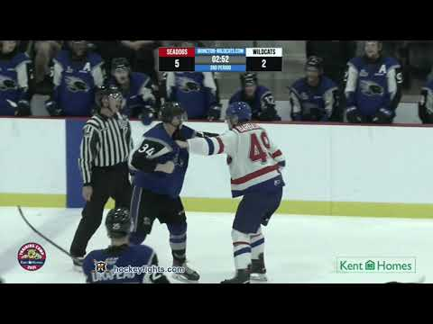 Maxim Barbashev vs. Adam Bowness