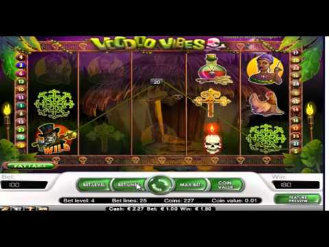 Voodoo Vibes NetEnt