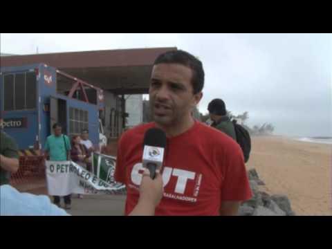 Matéria Mobilizações Sindicais Nacionais no Dia dos 60 anos da Petrobrás out2013