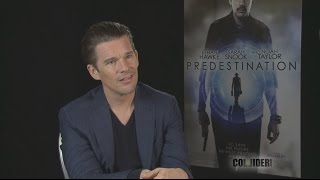 Ethan Hawke: Interview Talks Predestination; Directed by the Spieirig Brothers