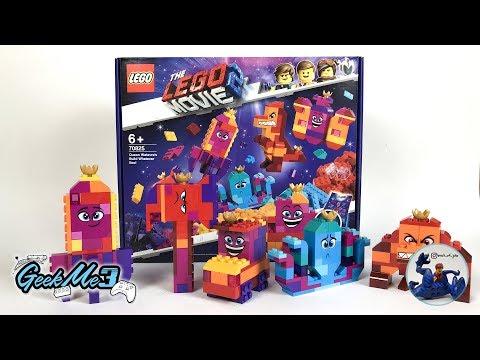 Vidéo LEGO The LEGO Movie 70825 : La boîte à construire de la Reine Watevra !