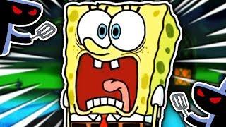 THE HASH SLINGING SLASHER!!! | 3AM At The Krusty Krab (Spongebob Horror Game)