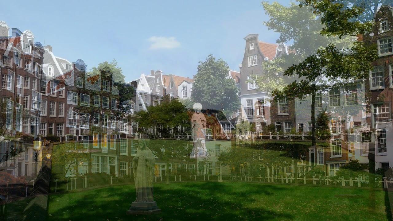 begijnhof amsterdam, amsterdam, netherlands, churches, the catholic houten Huys, the english reformed church