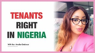 THE TENANTS RIGHT IN NIGERIA