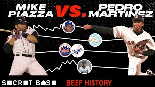 Pedro Martinez's beef with Mike Piazza covered family honor, a whole lot of money, and camp drama thumbnail