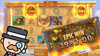 Tiger's Glory Slot Gameplay & Epic Win!!!