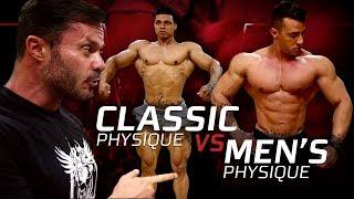 CLASSIC PHYSIQUE VS. MENS PHYSIQUE | QUAIS AS PRINCIPAIS DIFERENÇAS?
