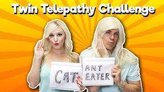 Twin Telepathy Sister Challenge | Jenn Barlow & Michael Gmur