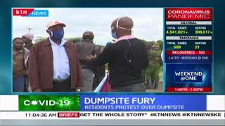 Nyeri protests: Residents protest after county government brought dumpsite to their locality