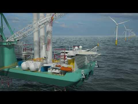 Huisman bouwt 2600mt-kraan voor Yantai CIMC
