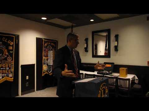 Video: Ballad Health's Alan Levine explains system changes to Kingsport Lions Club.