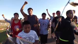 Prayer Run to Standing Rock, by Flying Limbs Inc., Productions