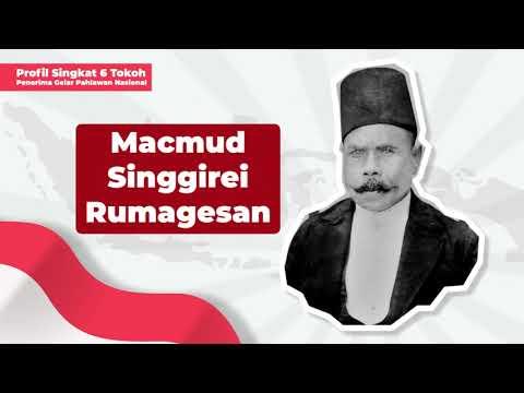 Profil Penerima Gelar Pahlawan Nasional: Macmud Singgirei Rumagesan