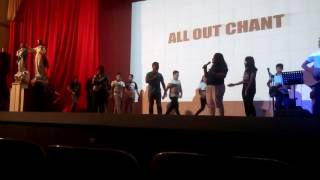 ALL OUT CHANT @MMLS