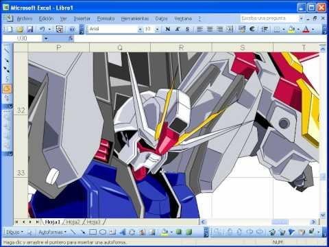 Gundam w Excelu