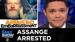 Assange Arrested and Charged with Conspiracy | The Daily Show