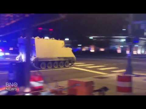 ΗΠΑ: Κινηματογραφική καταδίωξη τεθωρακισμένου από περιπολικά της αστυνομίας (βίντεο)