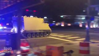 Virginia State Police Chase A Stolen Tank