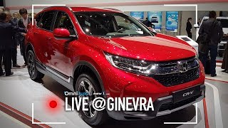Nuova Honda CR-V, dall'America con furore! | Salone di Ginevra 2018