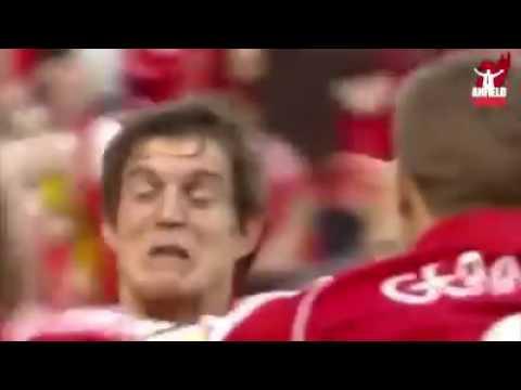 Daniel Agger Goal The semi-finals Champions league 2007 Liverpool -  Chelsea