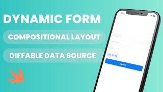 Create a Dynamic Form in UIKit (Compositional Layout, Diffable Data Source, UICollectionView)