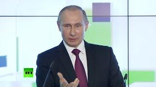Владимир Путин поздравил RT с юбилеем