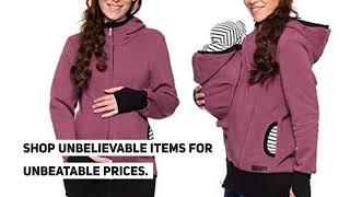 Keep Warm Baby Carrier Kangaroo Hoodie Winter Maternity Hoody Outerwear Coat For Pregnant Women