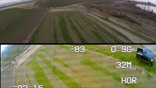 Arris 250 b race drone .. gopo view and fpv view pasted and timed perfect i think