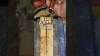 Curly fork ring tutorial, Flatwearable Artisan Jewelry