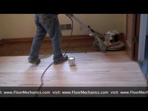 How to Apply Stain with a Buffer